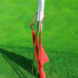 Golf Putter Buddy, Red, Clip on Towel, Free Shipping