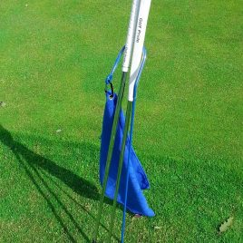 Golf Putter Buddy, Blue, Clip on Towel, Free Shipping