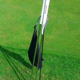 Golf Putter Buddy, Black, Clip on Towel, Free Shipping