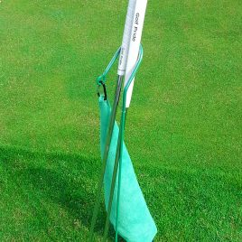 Golf Putter Buddy, Green, Clip on Towel, Free Shipping