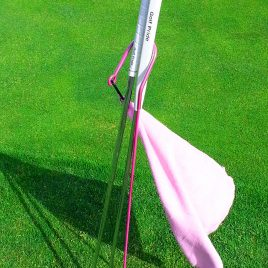 Golf Putter Buddy, Pink, Clip on Towel, Free Shipping