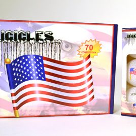 "Golf Balls Icicles American Flag ""Free Shipping"""