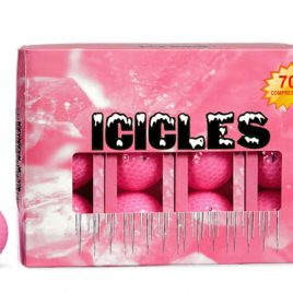 """Golf Balls Icicles Pink """"Free Shipping"""""""