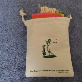 Golf Gifts Tee Bag, Tees, Pink Golf Socks, Free Shipping!