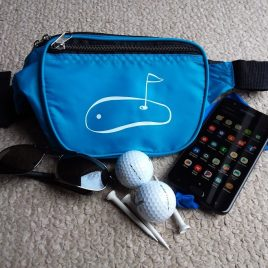 Waist Pack Purse with Golf Design